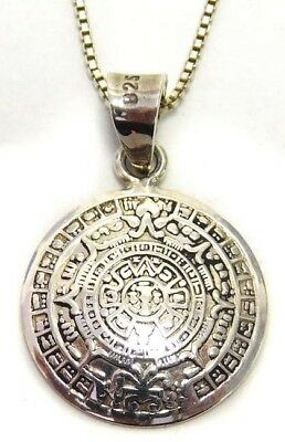 18'' Sterling Silver Aztec Necklace