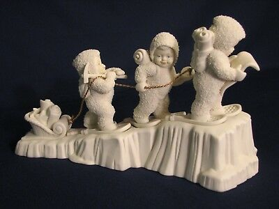 Dept 56 Snowbabies, Climb Every Mountain #68816 Limited Edition, MIB issued 1996