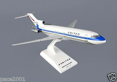 Skymarks Model United Airlines 727-200 Delivery Colors 1/150 Scale with Stand