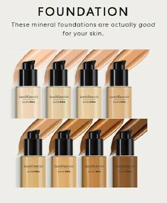 bareMinerals BarePro Performance Wear Liquid Foundation 30ml /1oz - Choose Color