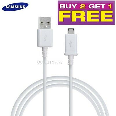 GENUINE SAMSUNG GALAXY S5 S6 S7 Edge Plus Note 4 5 MICRO USB CABLE CHARGER LEAD