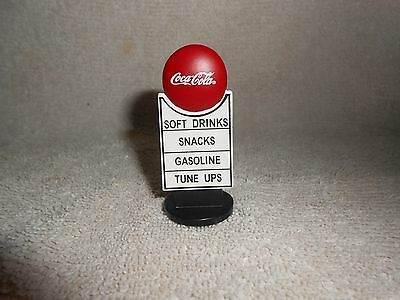 Coca-Cola Miniature Gasoline Service Station Advertising Sign
