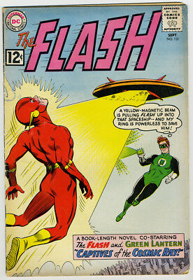 Flash #131 First Flash with Green Lantern! G-VG Free US Priority Mail
