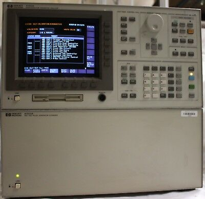 HP/Agilent 4156A & 41501A with dual PGU Semiconductor Parameter Analyzer Exander