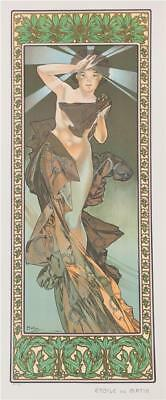 Mucha Foundation The Morning Star 1902 Fine Art Museum Edition Lithograph COA S2