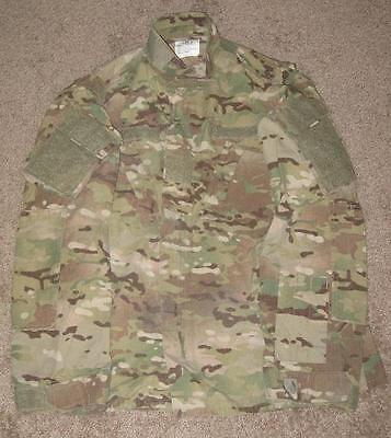US Army Multicam FR Defender OCP ACU Jacke coat Made USA XLXL XLarge XLong