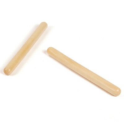 1 Pair Beat Musical Instruments Wooden Rhythm Sticks Kids Play Toy Gifts
