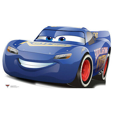 DISNEY PIXAR CARS 3 WITH POSTER FABULOUS LIGHTNING MCQUEEN IMPERFECT PACKAGING