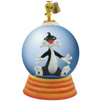 85mm Globe Sylvester Seeing Stars with Tweety Bird Figurine Statue
