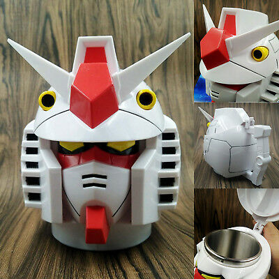 Mobile Suit Gundam Model Cup Collectible Stainless Steel Coffee Tea Mug Gift NEW