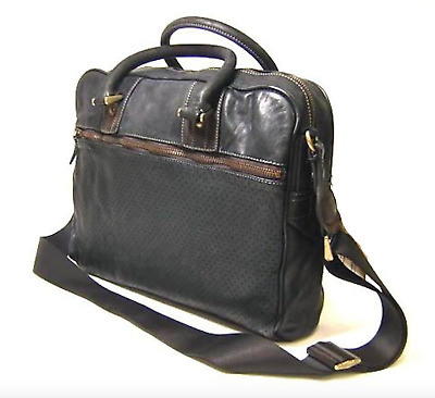 4baef2c65 Paul Smith Bag - Ryker Dip Dyed Full Leather Bag Messenger /Used in Gd con