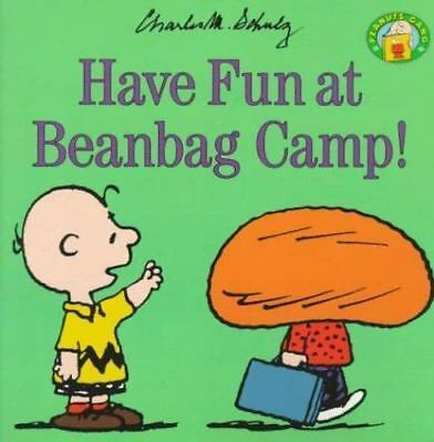 Lot of 5 Peanuts: Have Fun at Beanbag Camp by Charles Schulz (1998, Paperback)