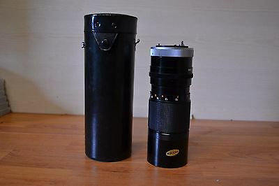 Canon Zoom FD 100 - 200mm f/5.6 Manual Focus Zoom lens with Case