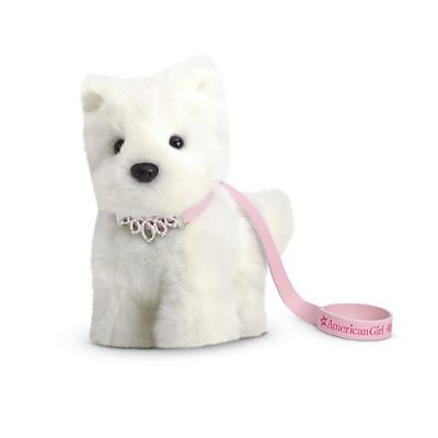 American Girl Doll Pet Jeweled Collar and Leash Pink NEW!!