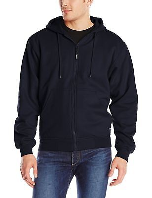 Berne Men's Original Hooded Sweatshirt Thermal Lined, Navy,3XL Regular