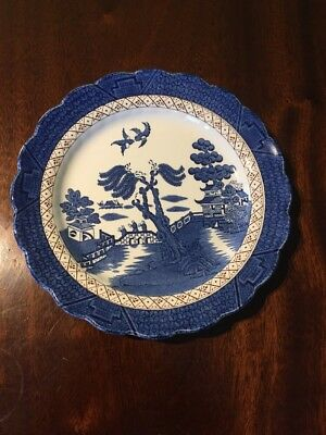 Vintage Booths Real Old Willow Plate