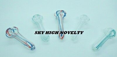 Collectible Small Peanut Pipe - Glass Tobacco Pipe   Buy 2 Get 1 Free + Screens