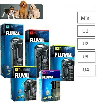 Fluval Mini,u1,u2,u3,u4 Underwater Internal Aquarium Fish Tank Power Filter