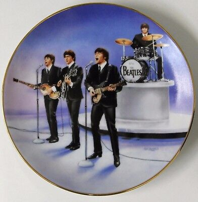 "NATE GIORGIO BEATLES "" Live in Concert "" 1st Issue Delphi Collector Plate"