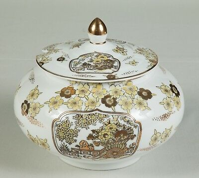 Gold Imari Hand Painted Covered Soup Tureen