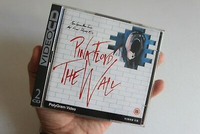 VideoCd PINK FLOYD THE WALL 2 Cd Polygram Video 1994 VCD perfetto