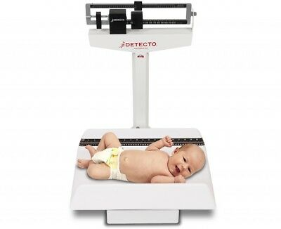 BABY SCALE WEIGHBEAM TRAY INFANT MECHANICAL 130lb x 1 oz - 450 NEW FREE SHIPPING