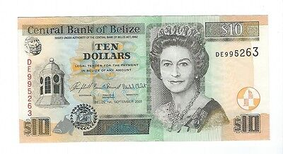 Belize - 2007, Ten (10) Dollars