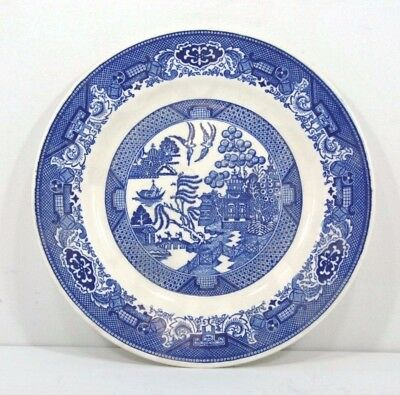 Willow Ware Royal China Round Blue Willow Platter