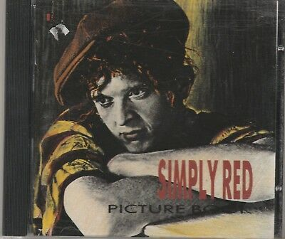 Simply Red - Picture Book **1985 Germany CD Album**VGC