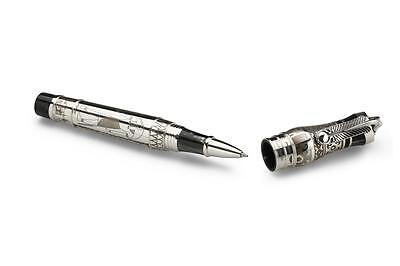 Montegrappa Thoth Sterling Silver Rollerball Pen