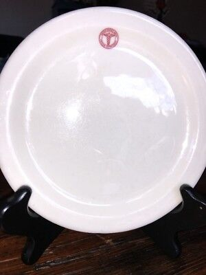 WW II US Army Medical dept small bread Butter dessert plate SNENANGO