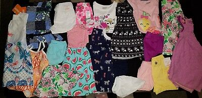 NWT Girls Size 12-18 Months Summer Lot of Clothes Outfits Gymboree tigers