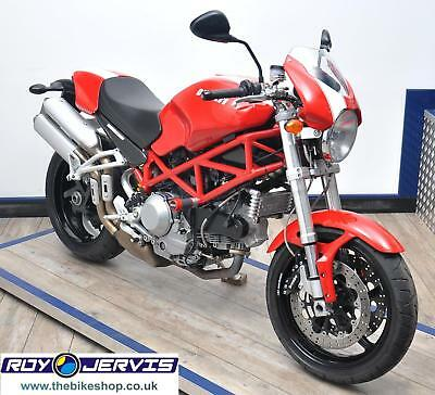 2008 (08) Ducati MONSTER S2R S2R 1000 Naked Red - Stunning - ONLY 5000 Miles