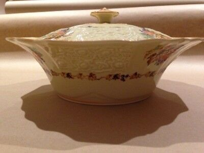 Vintage Myott Stafforshire Tureen/Large Serving Bowl with Lid – Autumn Pattern F