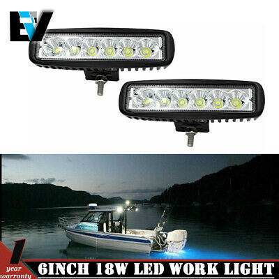 CREE 6inch LED Light Bar Spot & Flood Combo Off road Truck Boat Jeep Ford SUV