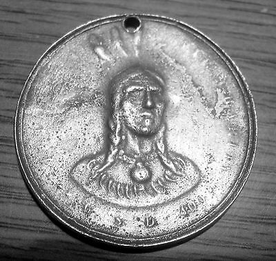 Early 1700's Western Tribe Peace Medal