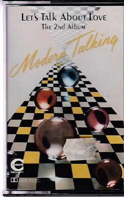 MC MODERN TALKING LET'S TALK ABOUT LOVE THE nd ALBUM