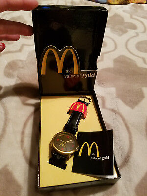 McDonald's The Value of Gold Fossil Limited Edition Watch 1998 3045 of 9000