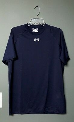 Mens Under Armour Loose Fit Locker T 1268471 NEW with tags color navy FREE SHIP
