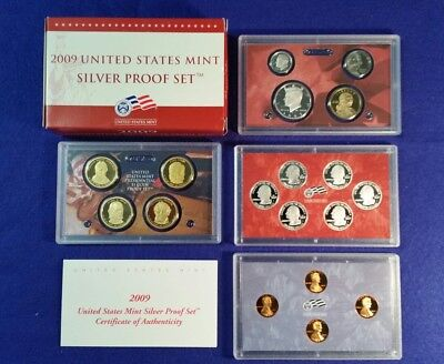 2009 US Silver Proof Set in Original Mint Packaging - FREE SHIPPING