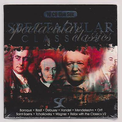 Spectacular Classics (Set 2) 10 CD Box Set- New and Sealed  (P244)