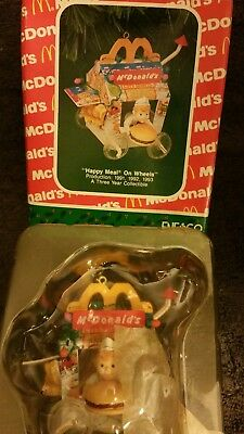 Enesco Happy Meal On Wheels Christmas Ornament McDonald's 583715