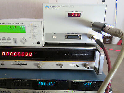 HP 8349B Power Amplifier