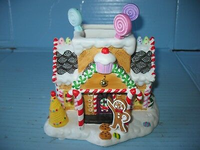 PartyLite Ceramic Gingerbread Village #1