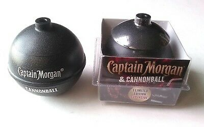 5 NEW Captain Morgan Cannon Ball Cup Spiced Rum Limited Edition Cup