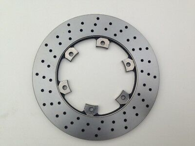 TOP QUALITY Go Kart Cross Drilled Vented Brake Disc 210mm dia x 12mm thick