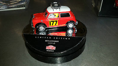 Mini Cooper Vintage EXIN Triang Scalextric SCX MSC GOM Slot.it Cartrix 60730