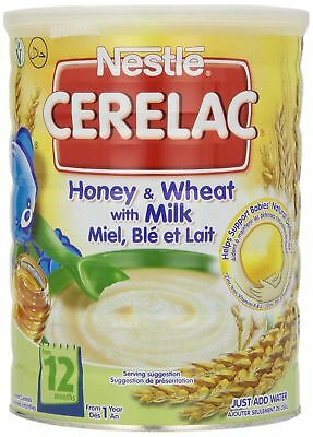 Nestle Cerelac Honey and Wheat with Milk 2.2-Pound