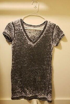 An Original by Well Worn Los Angeles Sheer Gray T Shirt