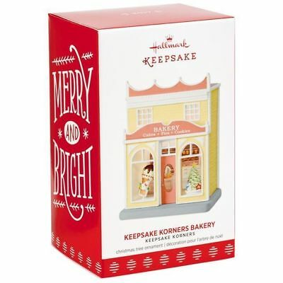 2017 Hallmark BAKERY light up Keepsake Korners ORNAMENT